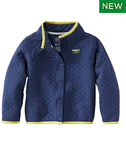 Infants' and Toddlers' Quilted Snap Sweatshirt