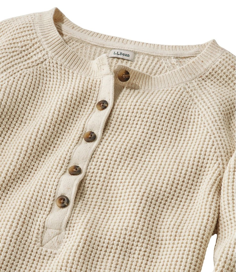 Organic Donegal Sweater, Henley