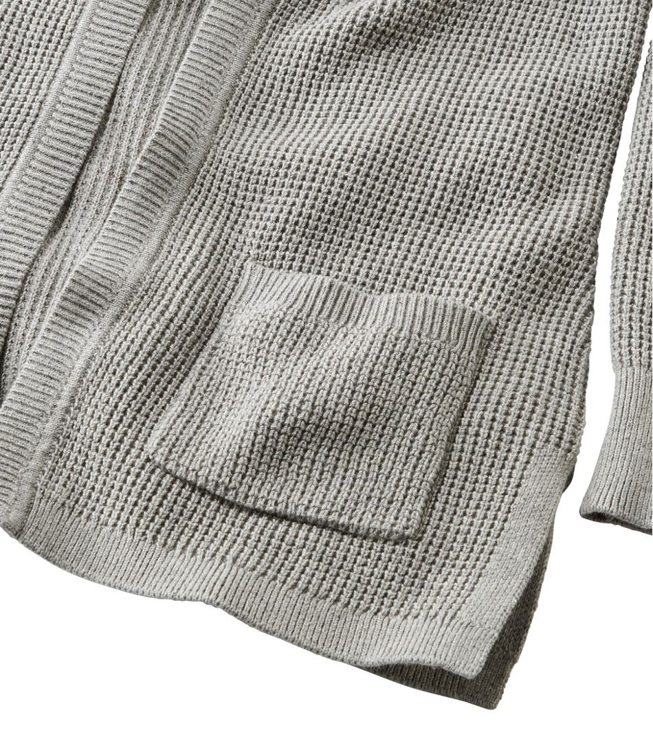 Organic Donegal Sweater, Open Cardigan