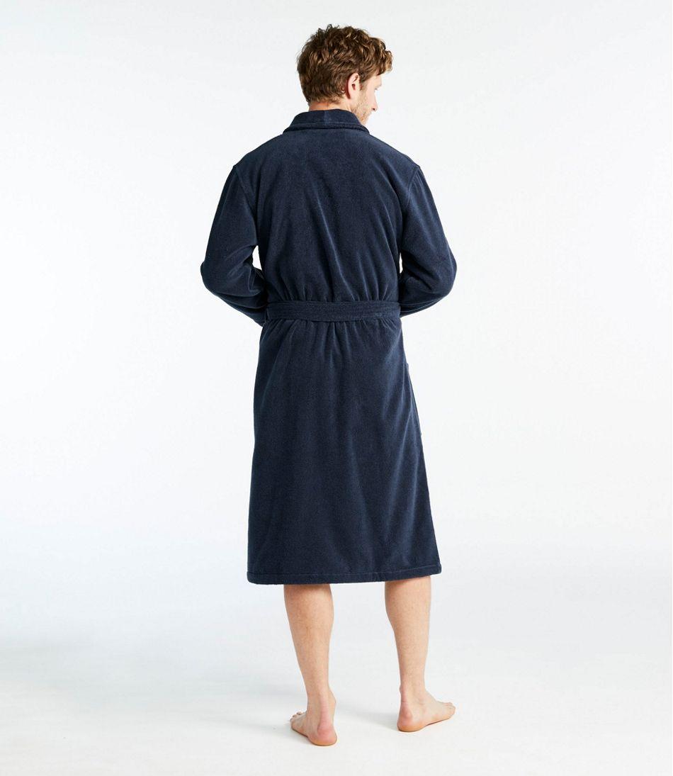 Men's Terry Cloth Organic Cotton Robe