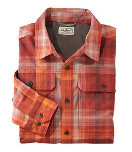 Men's Long-Sleeve Cresta Hiking Shirt, Plaid