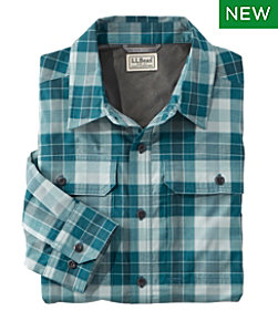 Men's Long-Sleeve Cresta Hiking Shirt, Plaid