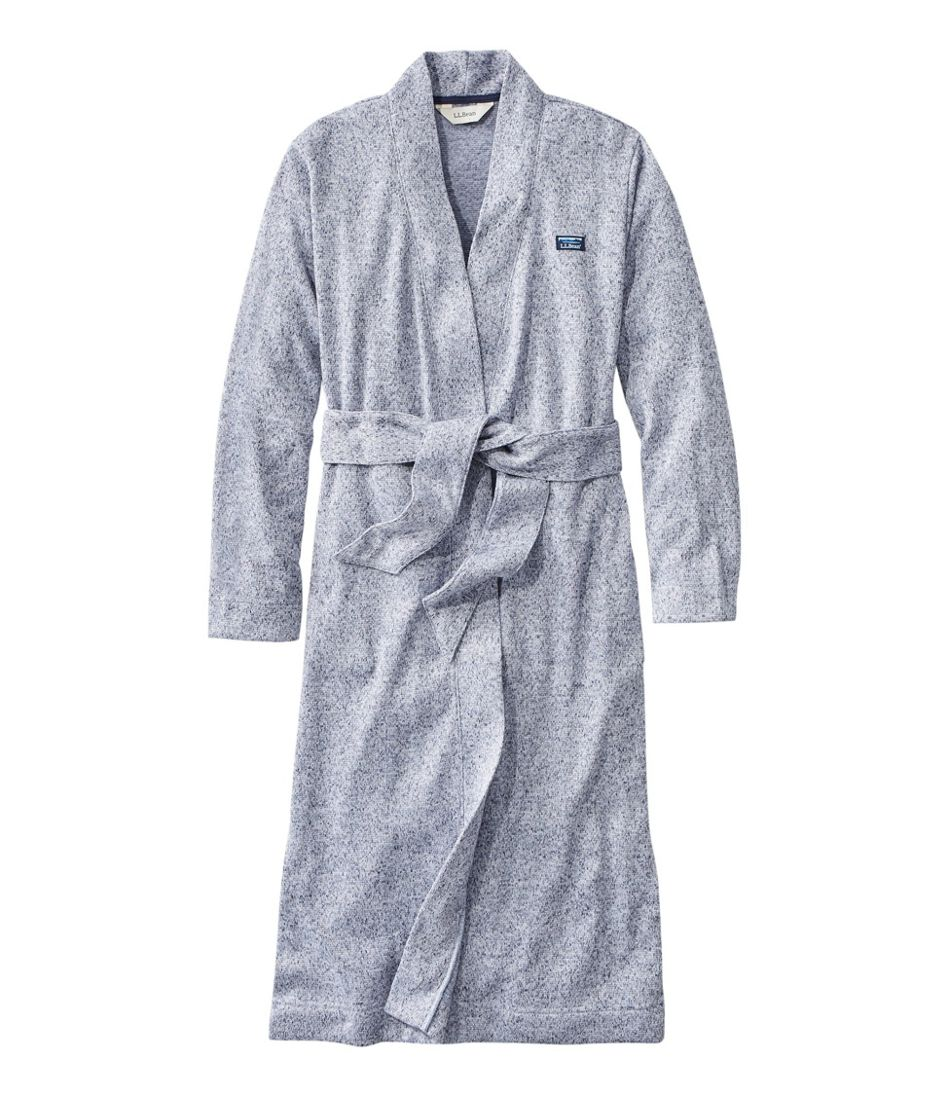 Women's Lightweight Sweater Fleece Wrap Robe