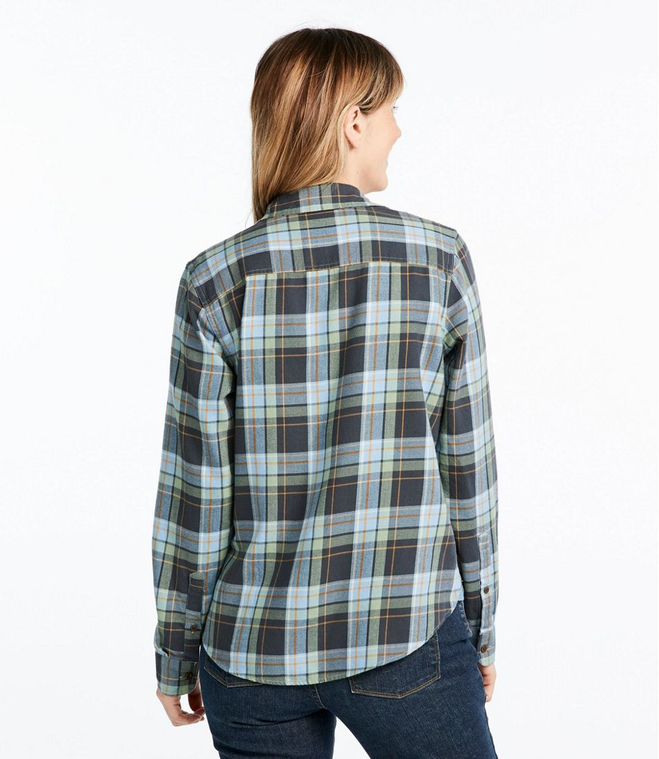 Rangeley Flannel Shirt, Button-Front