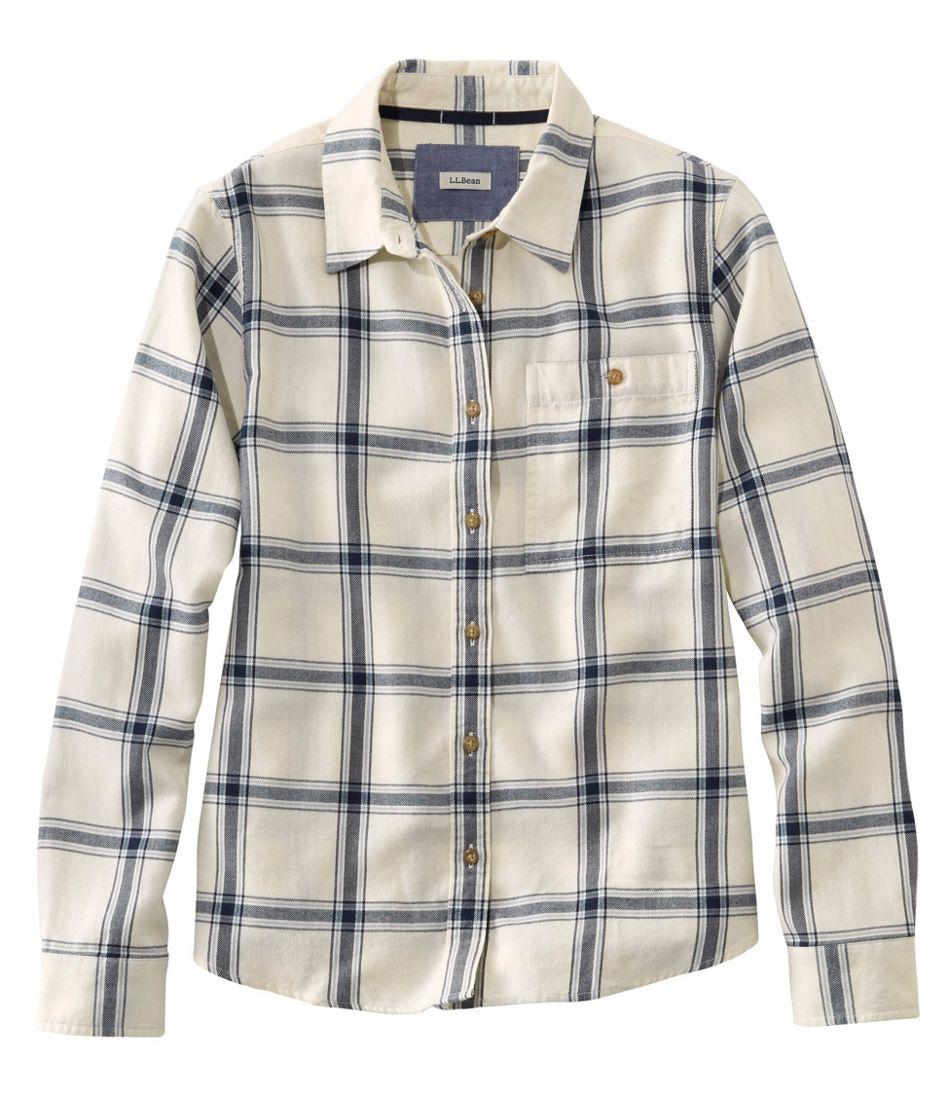 Rangeley Flannel Shirt, Button-Front