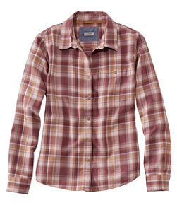 Women's Rangeley Flannel Shirt, Button-Front