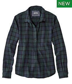 Rangeley Flannel Shirt, Popover