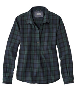 Women's Rangeley Flannel Shirt, Popover
