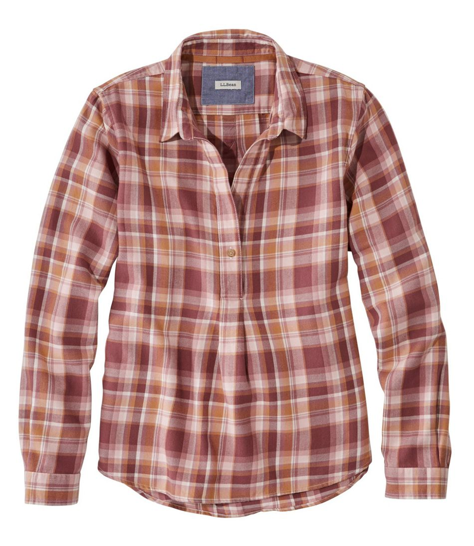 Rangeley Flannel Shirt, Popover