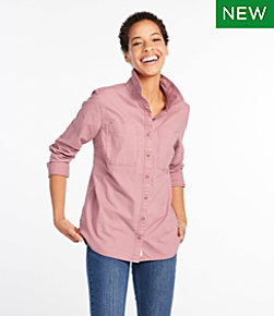 L.L. Bean Heritage Sunwashed Canvas Shirt