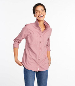 Women's L.L. Bean Heritage Sunwashed Canvas Shirt