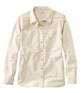 Women's L.L. Bean Heritage Sunwashed Canvas Shirt