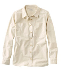 Sunwashed Canvas Shirt Slightly Fitted