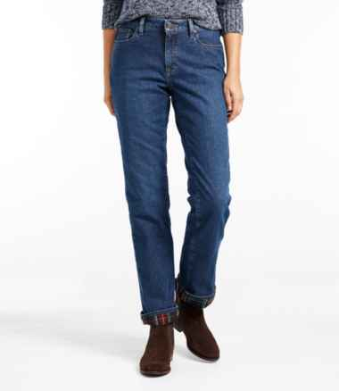 Women's 1912 Jeans, Favorite Fit Straight-Leg Lined