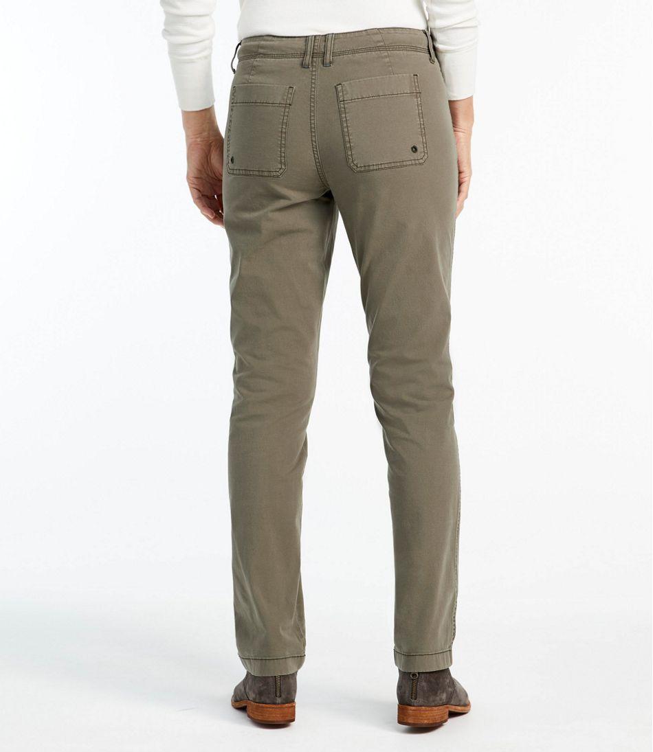 Women's Stretch Canvas Five-Pocket Pants
