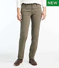 Stretch Canvas Five-Pocket Pants