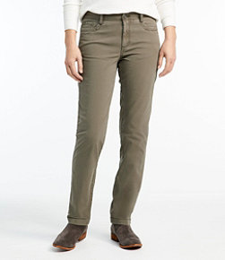Women's Stretch Canvas Five-Pocket Pants