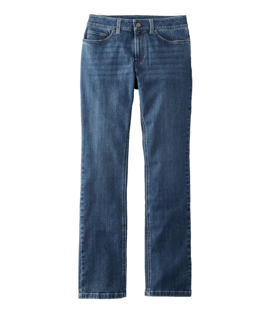 BeanFlex Jeans, Favorite Fit Straight-Leg