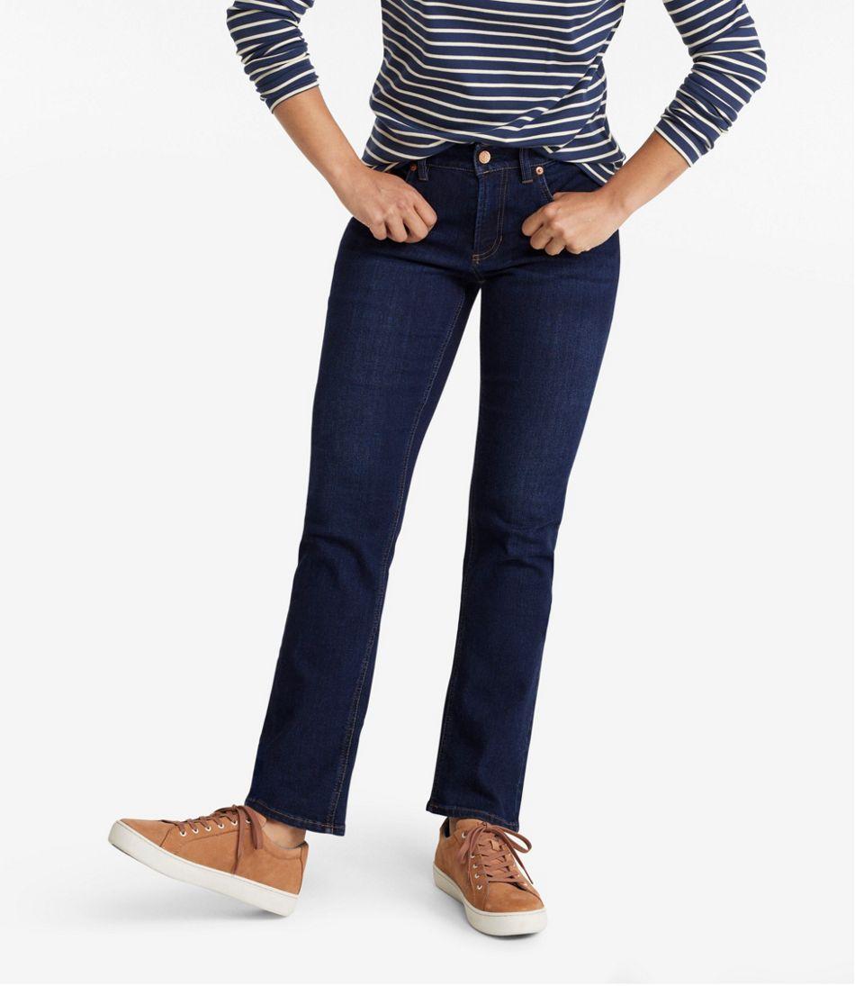 BeanFlex Jeans, Favorite Fit Straight-Leg