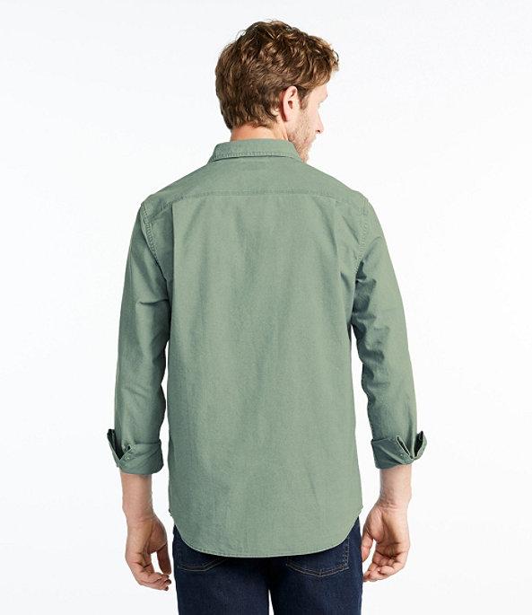 Sunwashed Canvas Shirt Slightly Fitted, , large image number 2