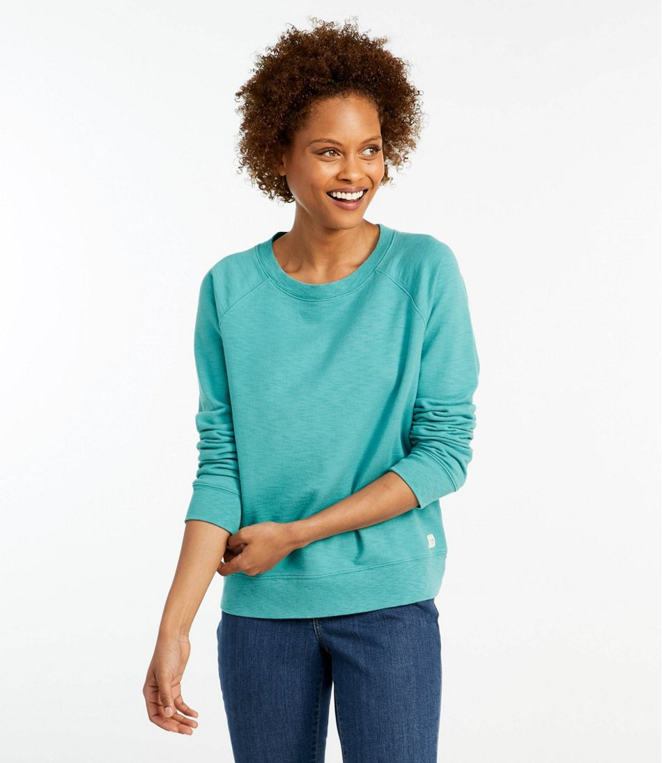 Organic Cotton Crewneck Sweatshirt