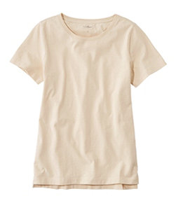 Lakewashed Organic Cotton Tee, Short-Sleeve Crewneck