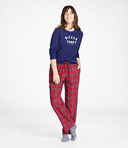 Women's L.L.Bean Camp PJ Set