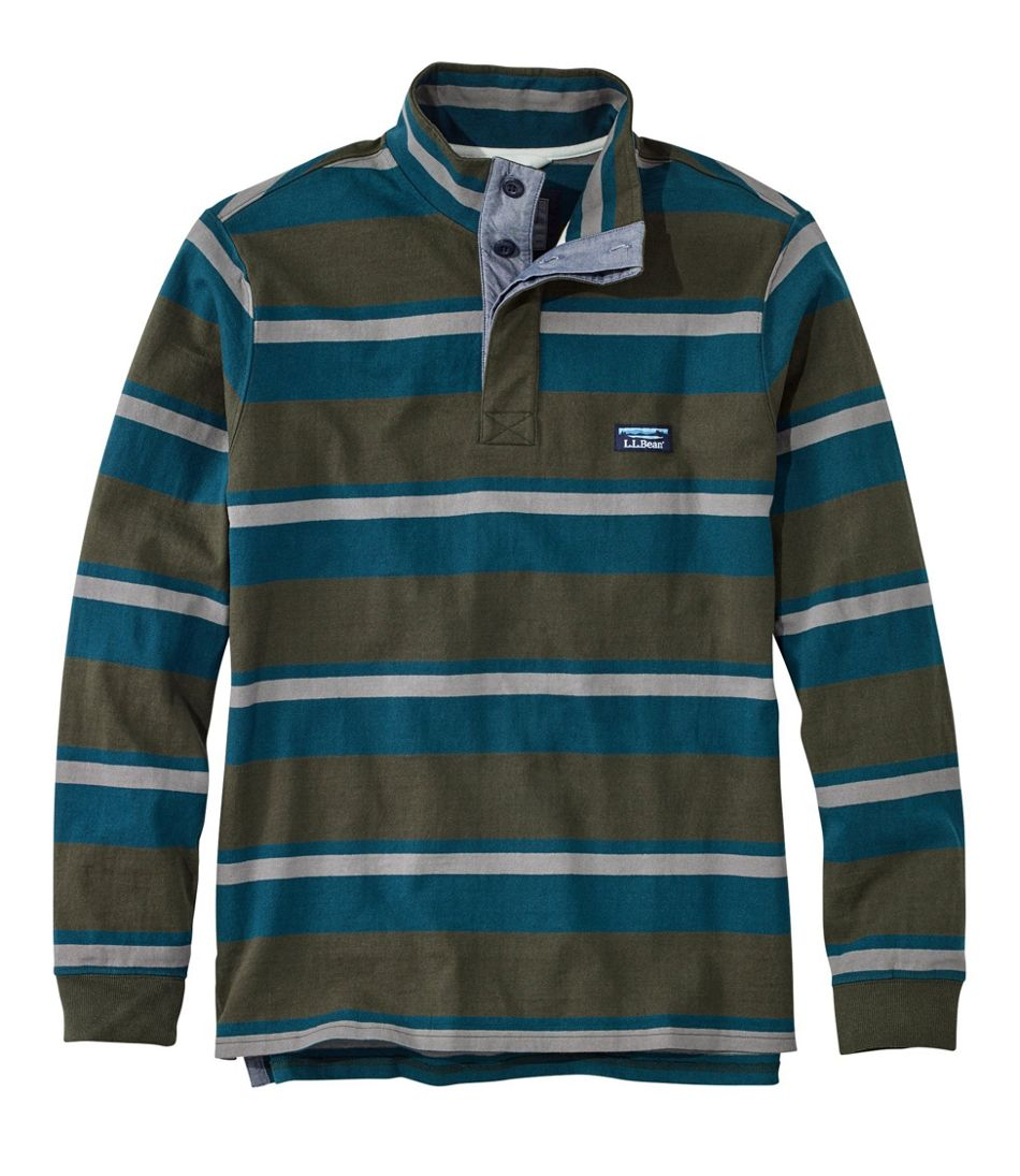 Lakewashed® Rugby Pullover, Traditional Fit, Long-Sleeve Stripe