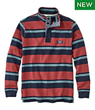 Lakewashed® Rugby, Traditional Fit, Long-Sleeve Stripe