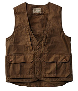 Double L Waxed-Cotton Upland Vest