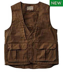 Double L Waxed-Cotton Upland Vest