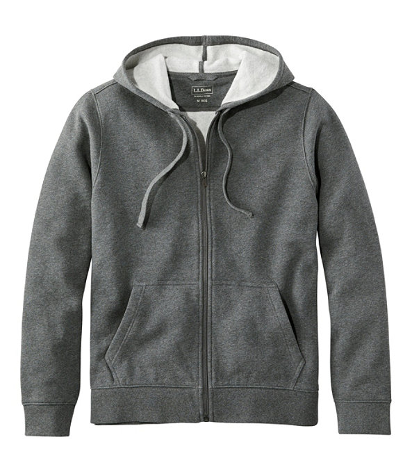 Athletic Sweats, Full-Zip Hoodie Unisex, Charcoal Heather, large image number 0
