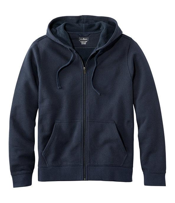 Athletic Sweats, Full-Zip Hoodie Unisex, Navy, large image number 0