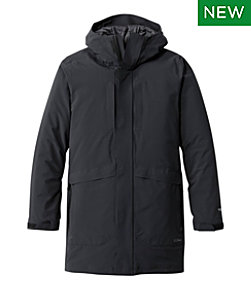 Men's Waterproof Packaway Long Coat