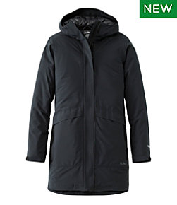 Women's Waterproof Packaway Long Coat