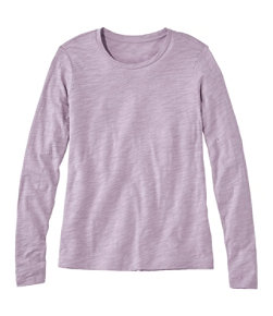 Women's Signature Essential Knit Tee, Long-Sleeve