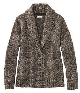 Women's Signature Ragg Wool Sweater, Cardigan