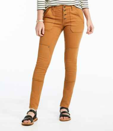 Women's Signature Premium Skinny Jeans, Button-Front Ankle