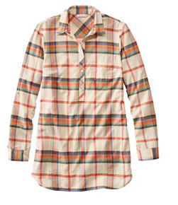 Women's Signature Lightweight Flannel Tunic Shirt