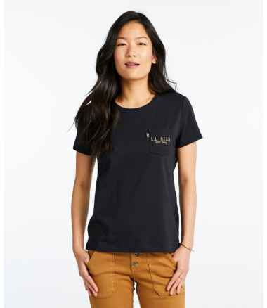 Women's Signature Organic Vintage Pocket Tee