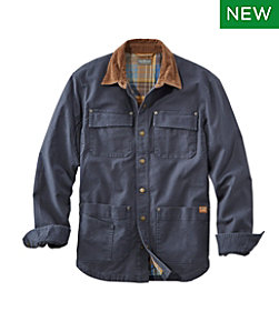 Signature Lined Canvas Shirt Jac
