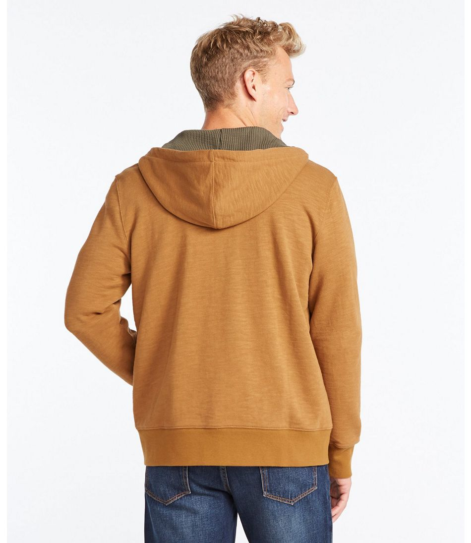 Signature Waffle-Lined Sweatshirt