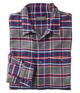 Men's Signature Organic Cotton Flannel Shirt