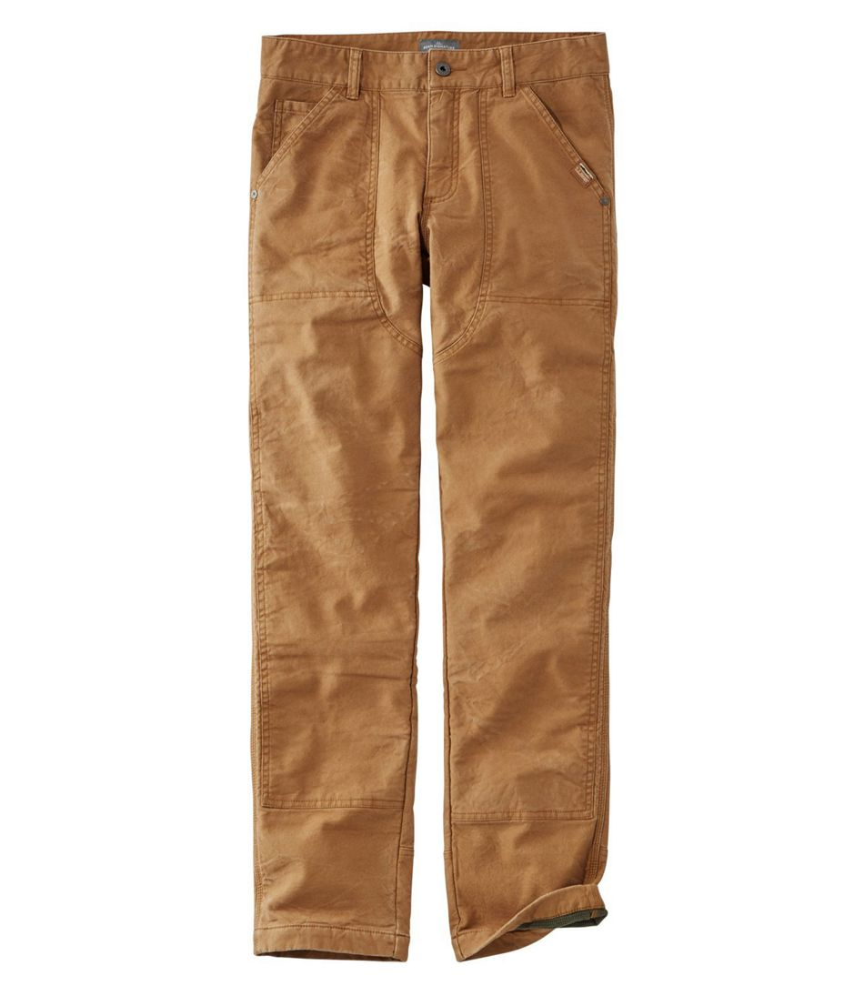 Signature Lined Canvas Utility Pants