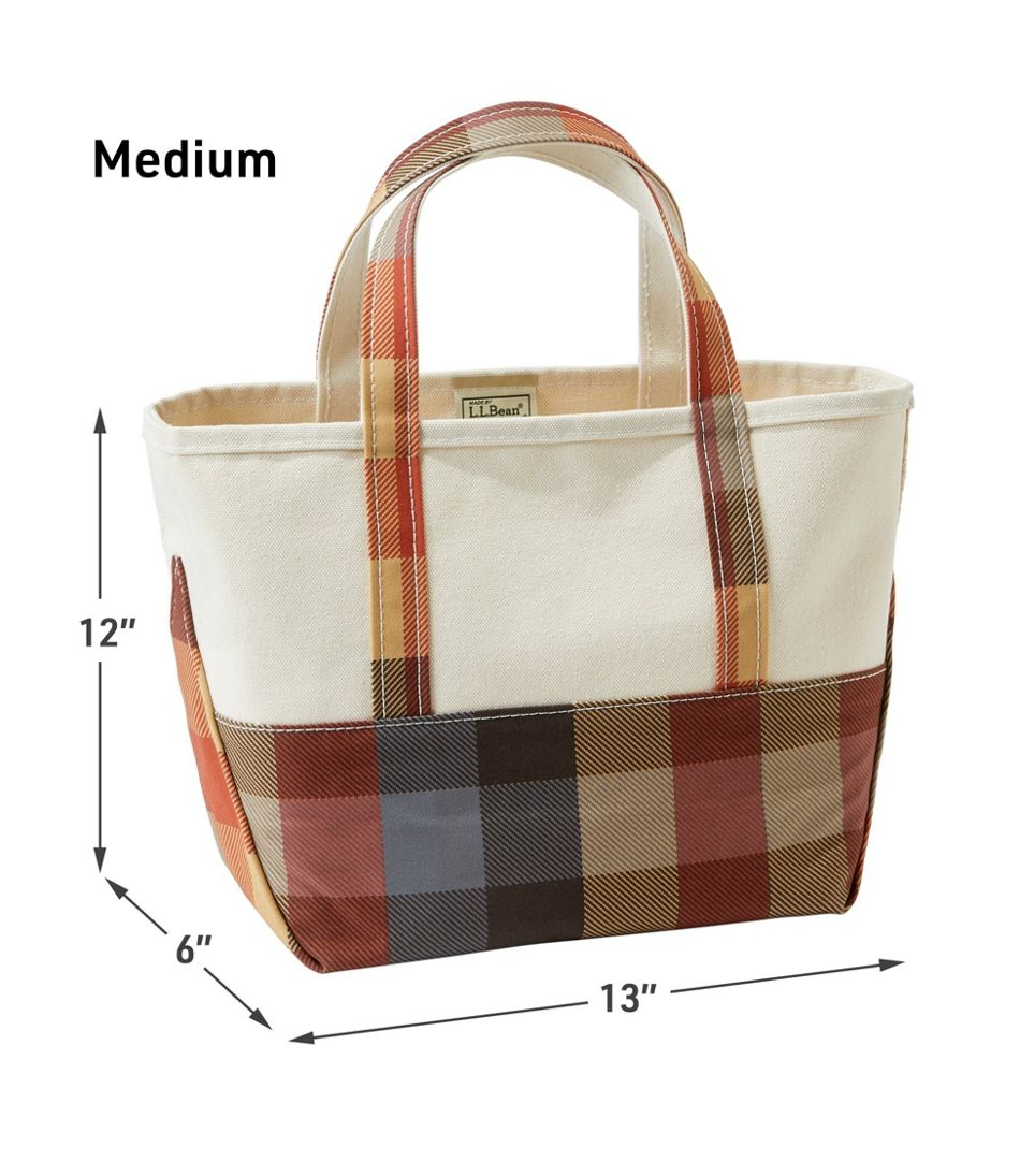 High-Bottom Boat and Tote