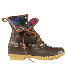 "Women's Bean Boots, 8"" Flannel-Lined, Thinsulate"