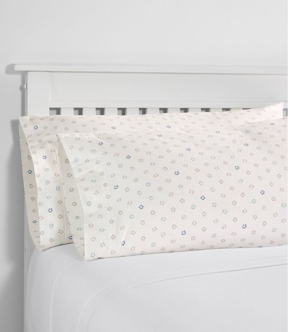 Organic Flannel Sheet Collection Print