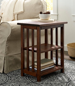 American Mission Two Shelf End Table