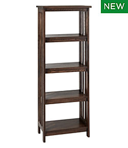 American Mission Four Shelf Bookcase