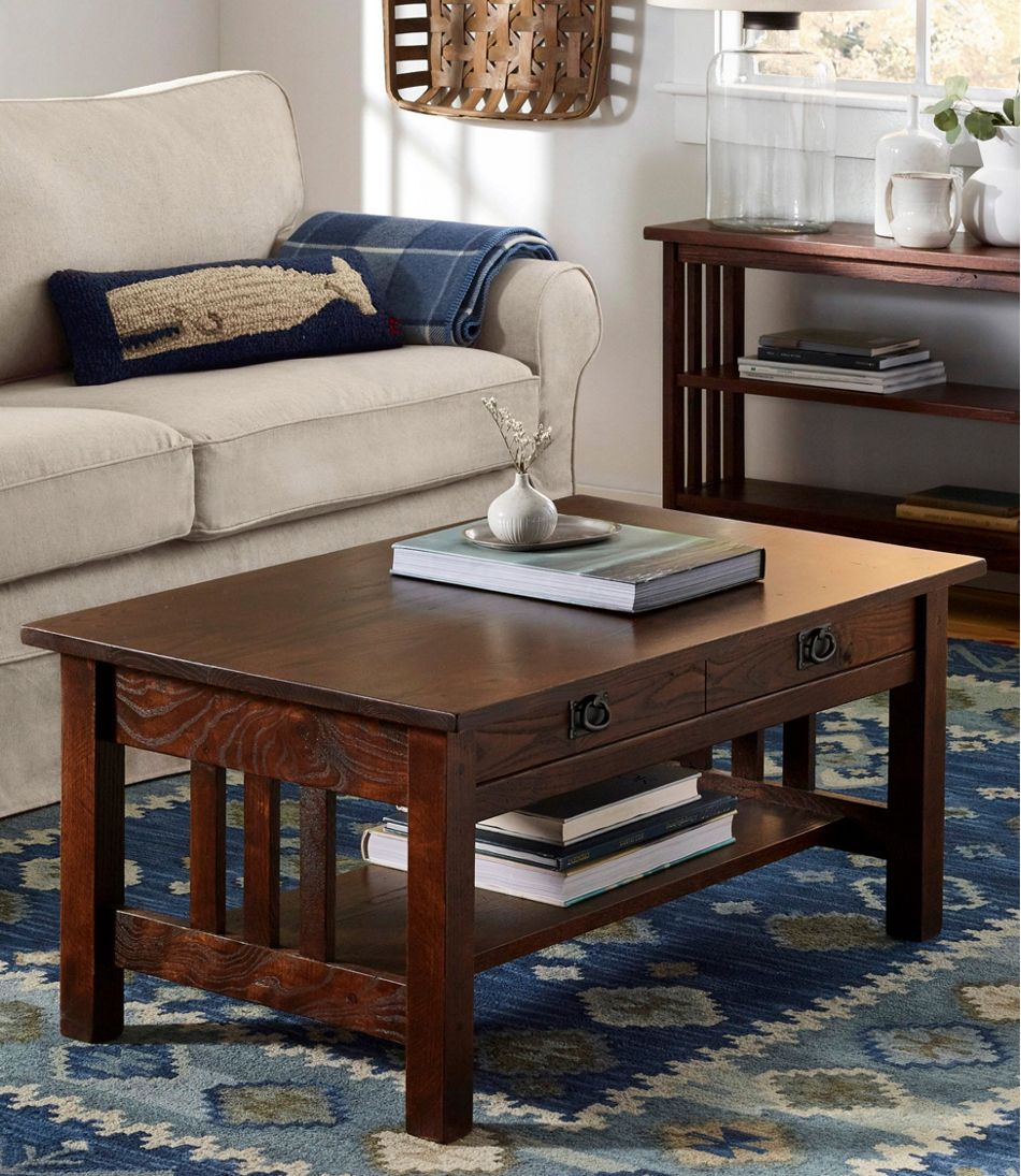 American Mission Coffee Table